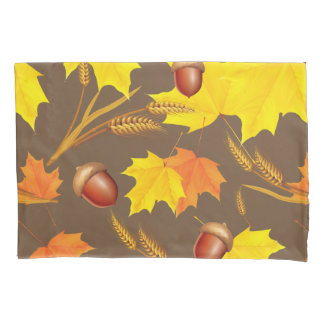 Golden Autumn Pillowcase
