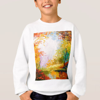 Golden autumn sweatshirt