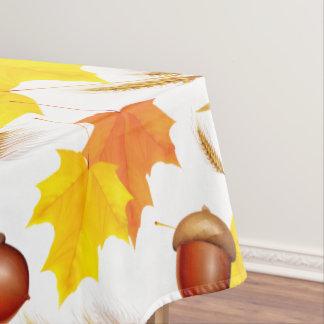 Golden Autumn Tablecloth