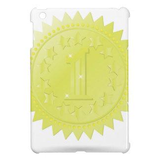 golden award case for the iPad mini