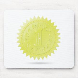 golden award mouse pad