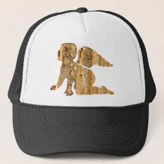 Golden Baby Angel Shiny Elegant Angelic Trucker Hat