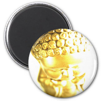 Golden Baby Buddha mousepad 2 Inch Round Magnet