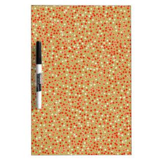 Golden Backdrop Dry Erase Board