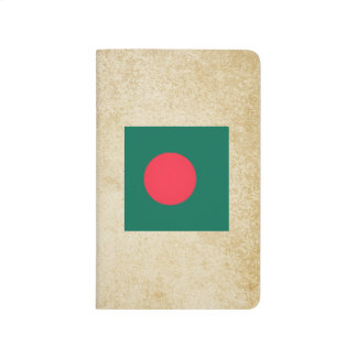 Golden Bangladesh Flag Journal