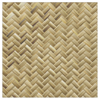 Golden Basket Weave Design Fabric