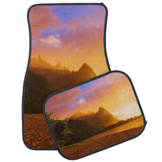 Golden beach sunset, Hawaii Auto Mat