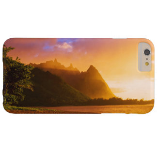 Golden beach sunset, Hawaii Barely There iPhone 6 Plus Case