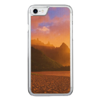 Golden beach sunset, Hawaii Carved iPhone 8/7 Case