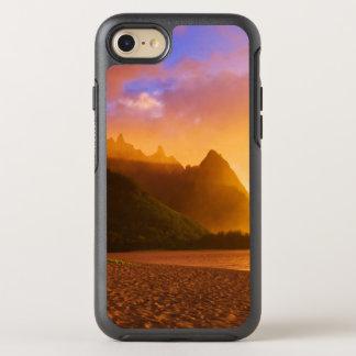 Golden beach sunset, Hawaii OtterBox Symmetry iPhone 7 Case