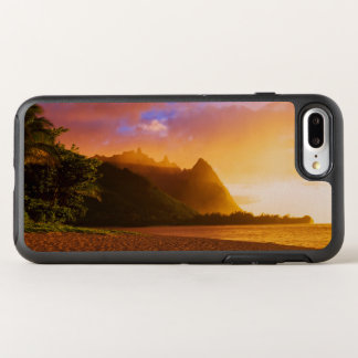 Golden beach sunset, Hawaii OtterBox Symmetry iPhone 8 Plus/7 Plus Case