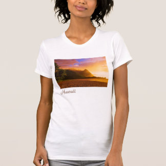 Golden beach sunset, Hawaii T-Shirt