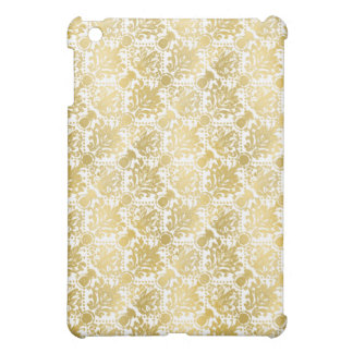 Golden beautiful baroque stylish elegant pattern iPad mini covers