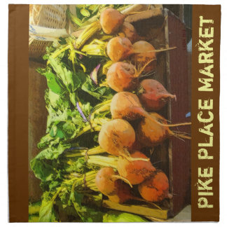 Golden Beets-The Pike Place Market Napkin