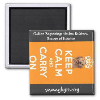 Golden Beginnings Magnet
