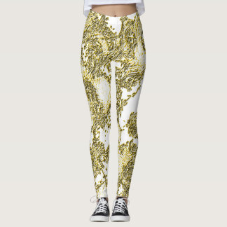 Golden Beryl Angelic Leggings