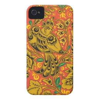 Golden bird iphone 4s case
