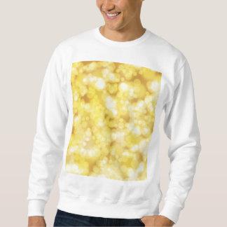 Golden Bokeh Glitter Sweatshirt