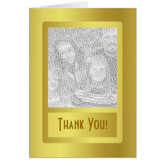 Golden Border 50th Wedding Anniversary Greeting Card