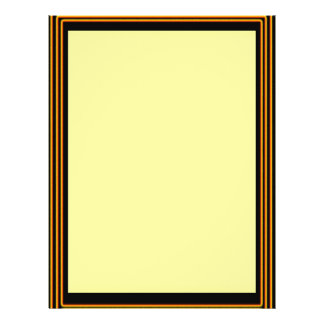 GOLDEN BORDER Plain Sheets Flyer Design