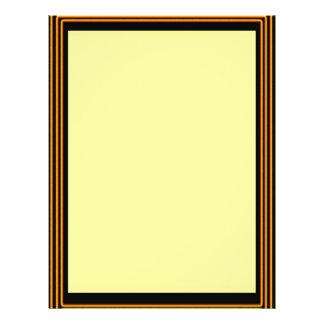 GOLDEN BORDER Plain Sheets Personalized Flyer