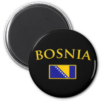 Golden Bosnia Magnet