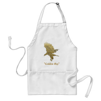 """Golden Boy"" Eagle gifts Standard Apron"