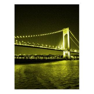 Golden Bridge postcard