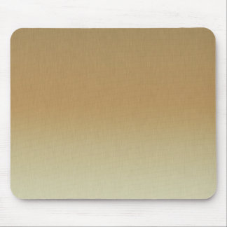 golden brushed mouse pad