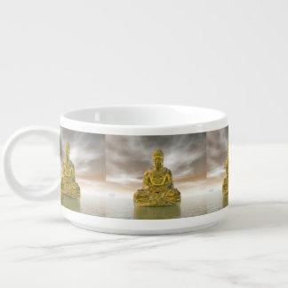 Golden buddha - 3D render Bowl