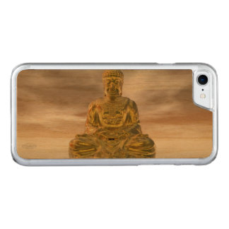 Golden buddha - 3D render Carved iPhone 8/7 Case