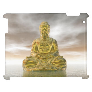Golden buddha - 3D render Case For The iPad