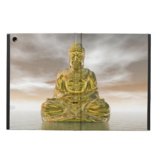 Golden buddha - 3D render iPad Air Covers