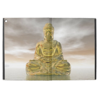 "Golden buddha - 3D render iPad Pro 12.9"" Case"