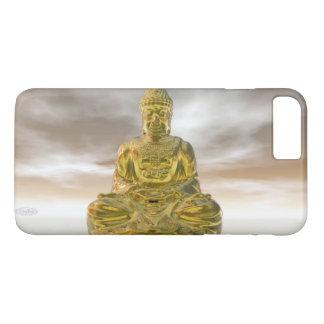 Golden buddha - 3D render iPhone 8 Plus/7 Plus Case