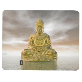Golden buddha - 3D render Journal