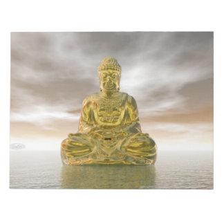 Golden buddha - 3D render Notepads