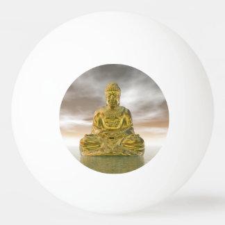 Golden buddha - 3D render Ping Pong Ball