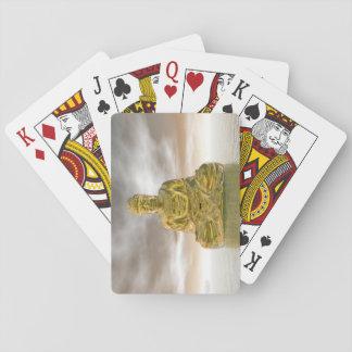 Golden buddha - 3D render Playing Cards