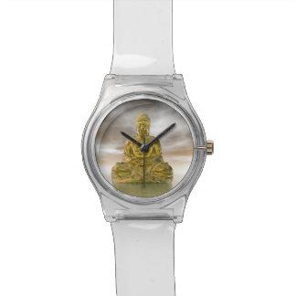 Golden buddha - 3D render Watch