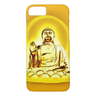 Golden Buddha Airbrush Art iPhone 7 Case