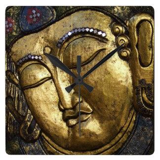 Golden Buddha Blessing Inspirational Love Clocks