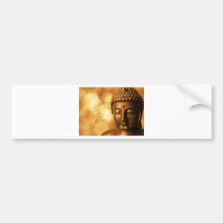 Golden Buddha Bumper Sticker