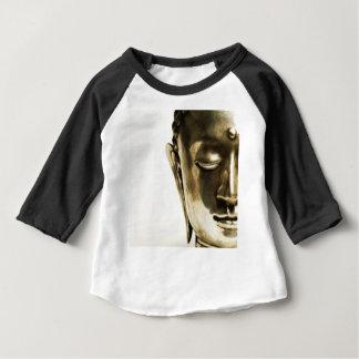 Golden Buddha Head Baby T-Shirt