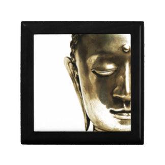 Golden Buddha Head Gift Box