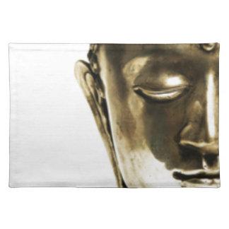 Golden Buddha Head Placemat