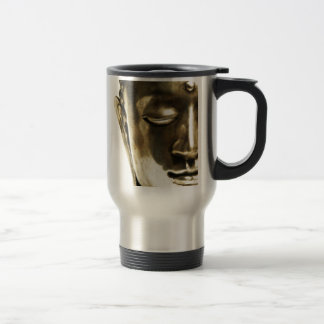 Golden Buddha Head Travel Mug