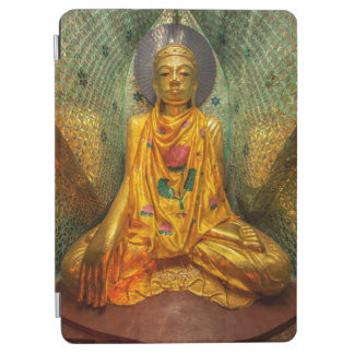 Golden Buddha In Temple iPad Air Cover