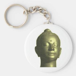 Golden buddha key chain