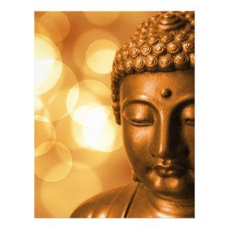 Golden Buddha Letterhead
